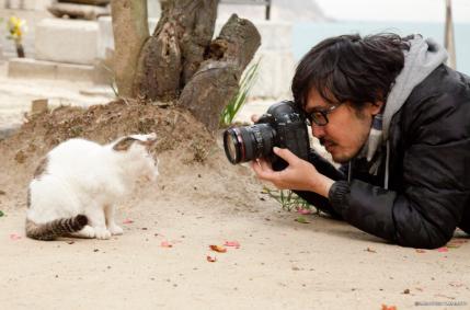 猫写真家・沖 昌之